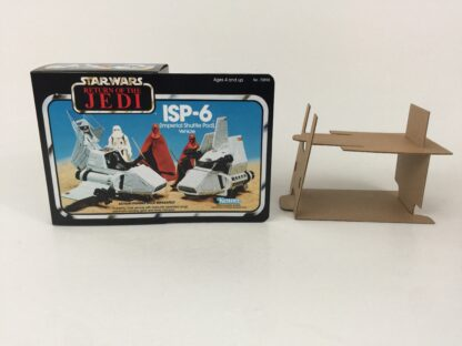 Replacement Vintage Star Wars The Return Of The Jedi ISP-6 mini rig box and inserts