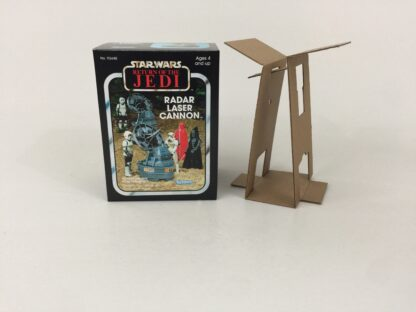 Reproduction Prototype Vintage Star Wars The Return Of The Jedi Radar Laser Cannon mini rig box and inserts