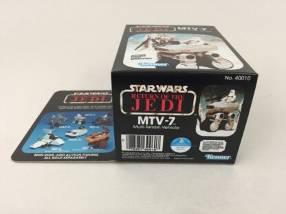 Reproduction Prototype Vintage Star Wars The Return Of The Jedi MTV-7 mini rig box and inserts