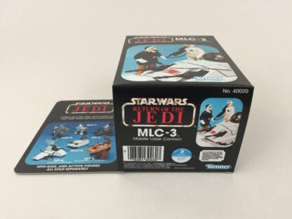 Reproduction Prototype Vintage Star Wars The Return Of The Jedi MLC-3 mini rig box and inserts