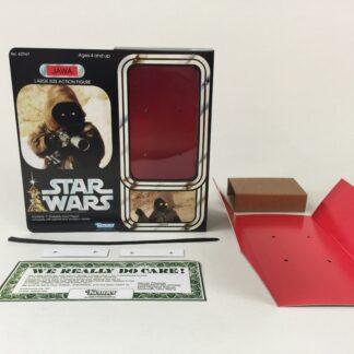 "Custom Vintage Star Wars 12"" Jawa Ewok box and inserts version 1"