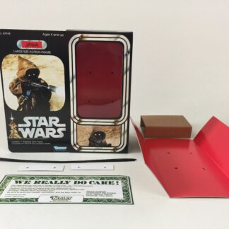"Custom Vintage Star Wars 12"" Jawa Ewok box and inserts version 2"
