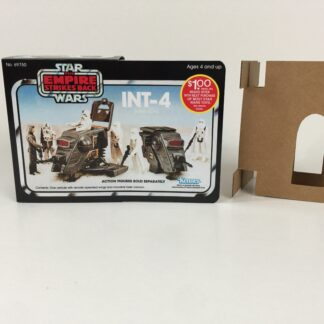 Replacement Vintage Star Wars The Empire Strikes Back INT-4 mini rig box and inserts $1 Rebate Offer
