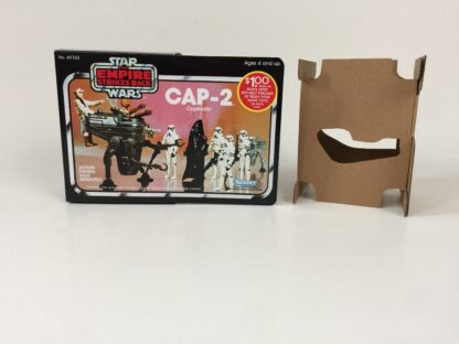 Replacement Vintage Star Wars The Empire Strikes Back CAP-2 mini rig box and inserts $1 Rebate Offer