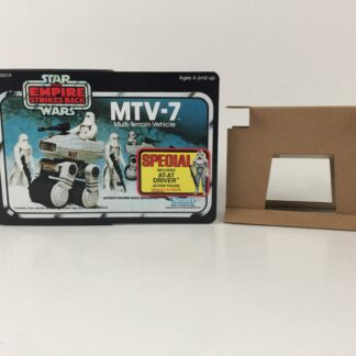 Replacement Vintage Star Wars The Empire Strikes Back MTV-7 mini rig box and inserts 3-back Special Offer sticker type 1