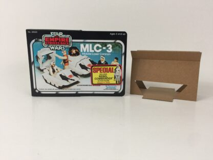 Replacement Vintage Star Wars The Empire Strikes Back MLC-3 mini rig box and inserts 3-back Special Offer Sticker type 1