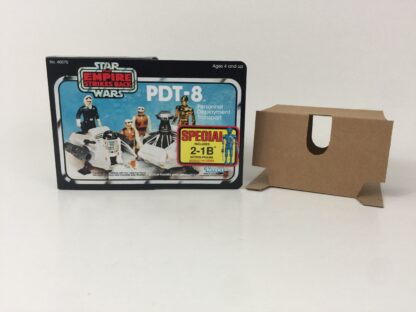 Replacement Vintage Star Wars The Empire Strikes Back PDT-8 mini rig box and inserts 3-back Special Offer sticker type 1