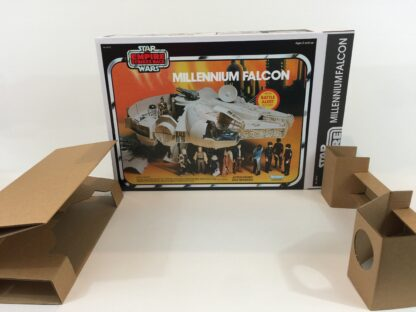 Replacement Vintage Star Wars The Empire Strikes Back Millennium Falcon box and inserts Cloud City version