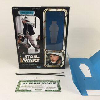 "Custom Vintage Star Wars 12"" Rebel Trooper box and inserts"