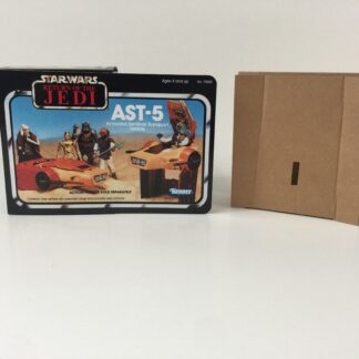 Replacement Vintage Star Wars The Return Of The Jedi AST-5 mini rig 4-back box and inserts