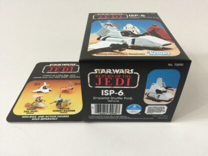Replacement Vintage Star Wars The Return Of The Jedi ISP-6 mini rig 4-back box and inserts