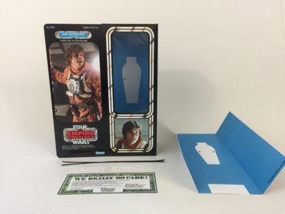 "Custom Vintage Star Wars The Empire Strikes Back 12"" Luke Skywalker X-Wing Pilot box and inserts"