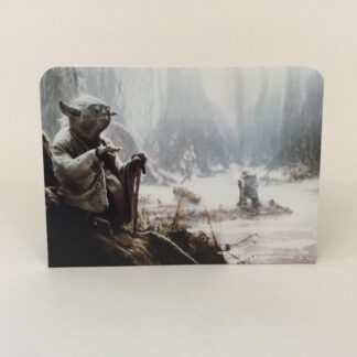 Replacement Vintage Star Wars Display Arena double sided backdrop C