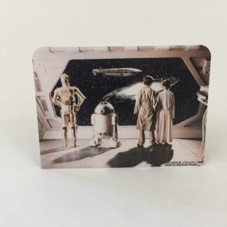 Replacement Vintage Star Wars Display Arena double sided backdrop D