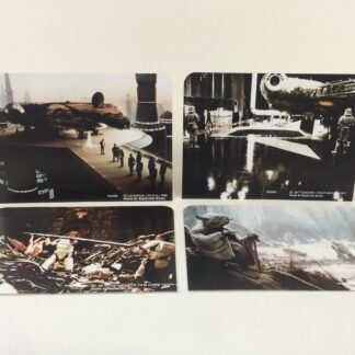 Replacement Vintage Star Wars Display Arena double sided backdrops x 4