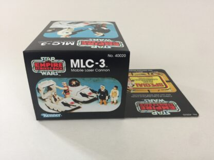 Replacement Vintage Star Wars The Empire Strikes Back MLC-3 mini rig box and inserts 5-back Special Offer sticker type 2