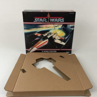 Custom Vintage Star Wars The Power Of The Force X-Wing box and inserts