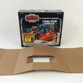 Replacement Vintage Star Wars The Empire Strikes Back Kenner Cloud Car Special Offer box and inserts