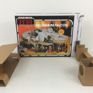 Reproduction Prototype Custom The Revenge Of The Jedi Millennium Falcon box and inserts