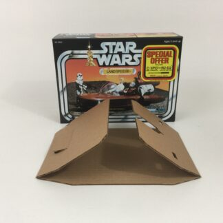Replacement Vintage Star Wars kenner Land Speeder Special Offer box and inserts