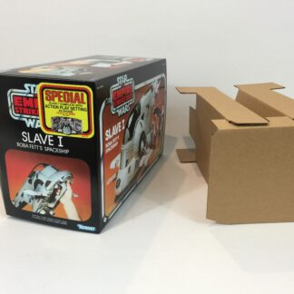 Replacement Vintage Star Wars The Empire Strikes Back Slave One Special Offer box and inserts