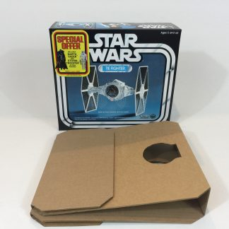 Replacement Vintage Star Wars Tie Fighter Special Offer box and inserts