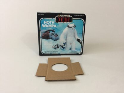 Replacement Vintage Star Wars The Revenge Of The Jedi Prototype Wampa box and inserts