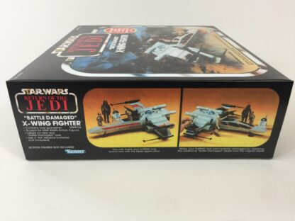 Replacement Vintage Star Wars The Return OF The Jedi Kenner Battle Damaged X-Wing box and inserts