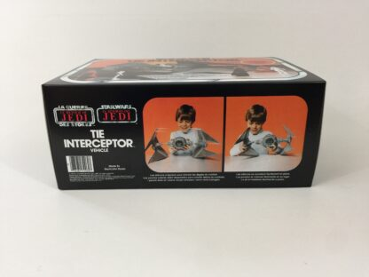 Replacement Vintage Star Wars The Return Of The Jedi Bi-Logo Tie Interceptor box and inserts