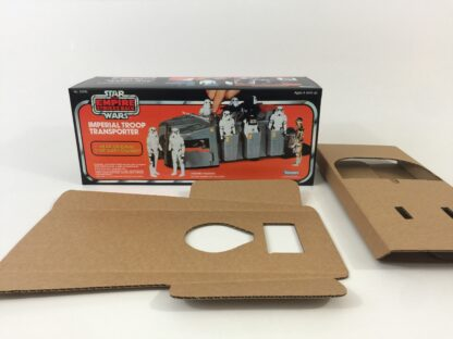 Replacement Vintage Star Wars The Empire Strikes Back Imperial Troop Transport box and inserts