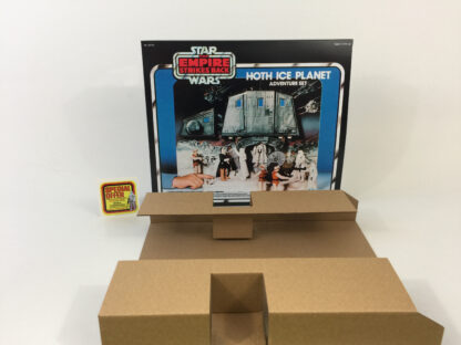 Replacement Vintage Star Wars The Empire Strikes Back Hoth Ice Planet Special Offer box and inserts