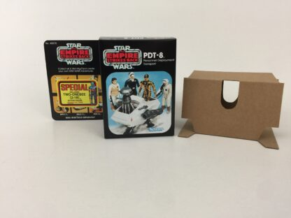 Replacement Vintage Star Wars The Empire Strikes Back PDT-8 mini rig box and inserts 5-back Special Offer sticker type 2