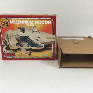 Replacement Vintage Star Wars Micro Collection Millennium Falcon box and inserts