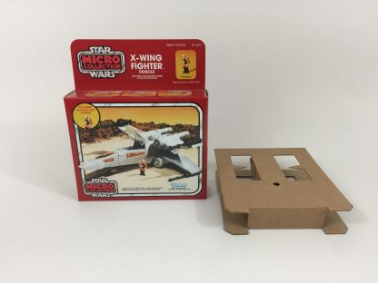 Replacement Vintage Star Wars Micro Collection X-Wing box and inserts