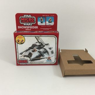 Replacement Vintage Star Wars Micro Collection Snowspeeder box and inserts