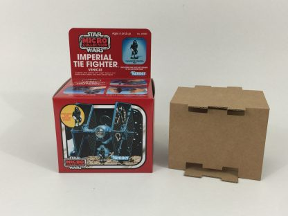 Replacement Vintage Star Wars Micro Collection Tie Fighter box and inserts