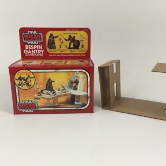 Replacement Vintage Star Wars Micro Collection Bespin Gantry box and inserts
