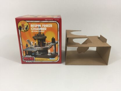 Replacement Vintage Star Wars Micro Collection Bespin Freeze Chamber box and inserts