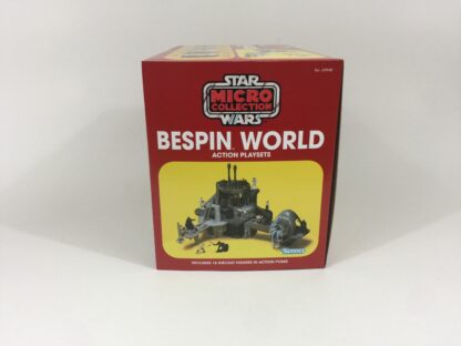 Replacement Vintage Star Wars Micro Collection Bespin World box and inserts