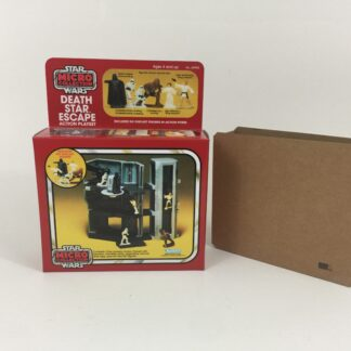 Replacement Vintage Star Wars Micro Collection Death Star Escape box and inserts