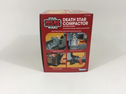 Replacement Vintage Star Wars Micro Collection Death Star Compactor box and inserts