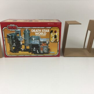 Replacement Vintage Star Wars Micro Collection Death Star World box and inserts