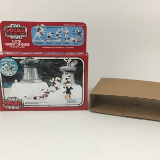 Replacement Vintage Star Wars Micro Collection Hoth Turret Defense box and inserts
