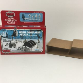 Replacement Vintage Star Wars Micro Collection Hoth Generator Attack box and inserts