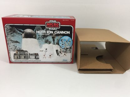 Replacement Vintage Star Wars Micro Collection Hoth Ion Cannon box and inserts