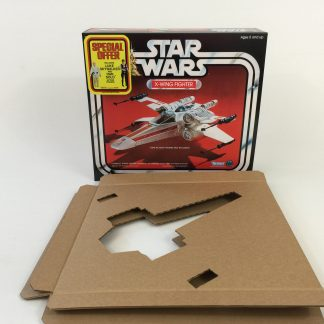 Replacement Vintage Star Wars X-Wing Special Offer box and inserts