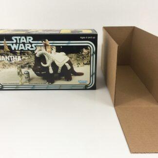 Custom Vintage Star Wars bantha box and inserts