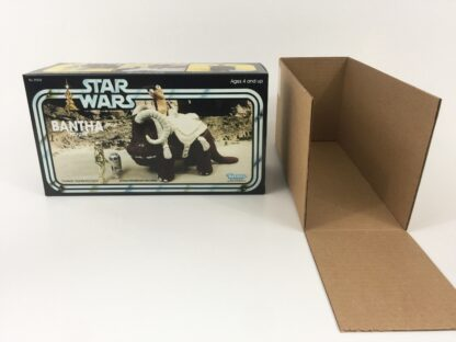Custom Vintage Star Wars bantha box and inserts