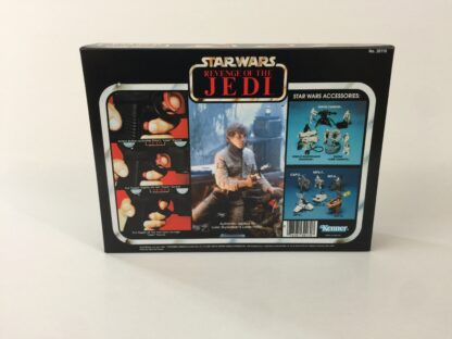 Custom Vintage Star Wars The Revenge Of The Jedi Luke Skywalker Laser Blaster box and inserts