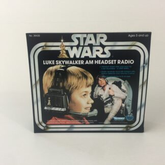 Replacement Vintage Star Wars Luke Skywalker AM Headset Radio box